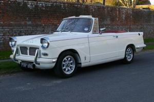 1967 Triumph Herald Convertible Photo