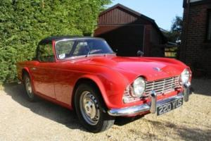 1962 Triumph TR4 Photo
