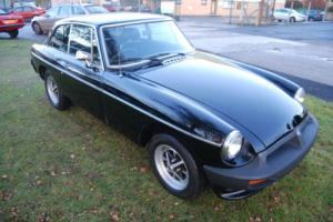 MG B GT black rubber bumper overdrive VERY GOOD CONDITION, different interior