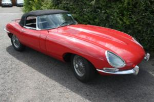 Jaguar E-Type Series 1 3.8 Roadster Flat Floor LHD