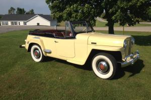 Willys : Jeepster Phaeton