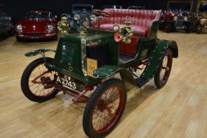 1901 Renault 4 1/2hp Type D series E 2 seater.