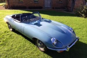 Jaguar E-Type Roadster 4-2