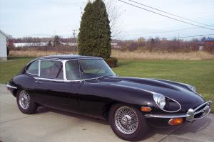 Jaguar : E-Type 2+2 Coupe Photo