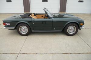 Triumph : TR-6 Convertible Photo
