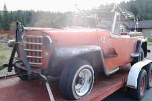 Willys : Jeepster Commando Phaeton chrome