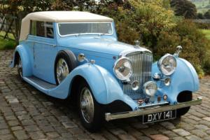 1937 Derby Bentley 4.25 Hooper Drophead. Photo