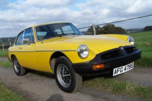 1978 MGB GT,only 48000 miles,new MOT,lots of history,drives really well!