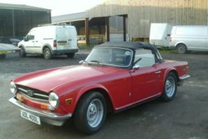 Triumph TR6 cheap priced to sell MAKE AN OFFER!!