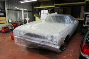 Plymouth Satelite 383 auto 1968 B Body Mopar Muscle car LHD Original condition