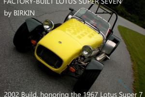 Lotus : Super Seven Photo