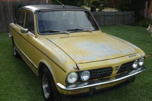 Triumph Dolomite Sprint 1976 4D Sedan 4 SP Manual Overdrive 2L Twin Carb in Lemon Tree Passage, NSW