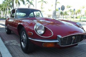 Jaguar : E-Type COUPE Photo