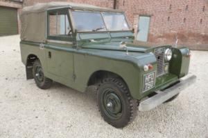 1961 Land Rover series 11 Soft top . Very original unrestored