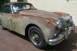 Jaguar : XK 150 Fixed Head Coupe