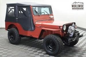 Jeep : CJ Willys CJ3A