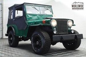 Jeep : CJ CJ2A WILLYS