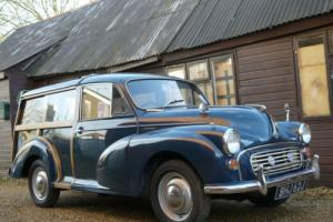MORRIS MINOR TRAVELLER 1098CC - EXCELLENT VALUE !!