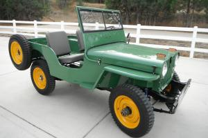 Willys : Jeep CJ2A