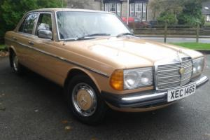 1977 MERCEDES BENZ 200 W123 DIESEL ONLY 81,500 MILES COLLECTORS CLASSIC