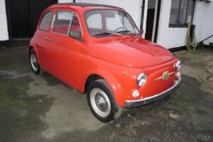 1967 FIAT 500 LEFT HAND DRIVE 4 SPEED MANUAL 54,000 MILES
