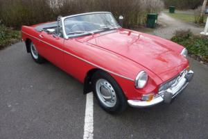 MGB ROADSTER PULL HANDLE 1963 RESTORATION COMPLETED FEB 2014 Photo