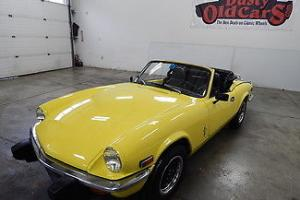 Triumph : Spitfire Runs Drives Excel Body Interior VGood  New Top Photo