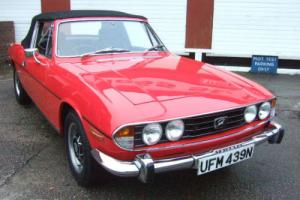 Triumph Stag V8 3.0 Manual O/D 1974 Photo
