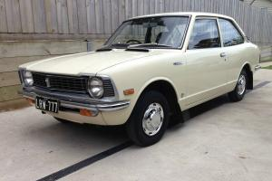 Toyota Corolla 1974 KE20 2 Door 4 Speed Manual Classic Retro Vintage Sedan Coupe in Port Fairy, VIC