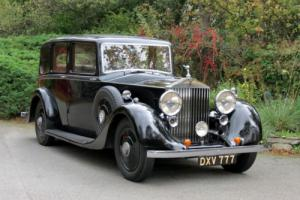 1937 Rolls-Royce 25/30 Barker Limousine GRO80 Photo