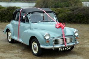 MORRIS MINOR CONVERTIBLE - BEAUTIFUL CAR WITH UPGRADES !!