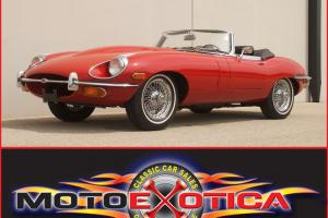 Jaguar : E-Type Convertible Photo