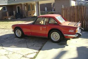 Triumph : TR-6 Conv Photo