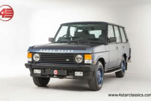 FOR SALE: Range Rover Classic Vogue SE