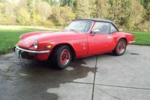 Triumph : Spitfire IV Photo