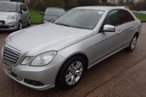 MERCEDES E200 BLUE EFFICIENCY SE CDI 2011/11