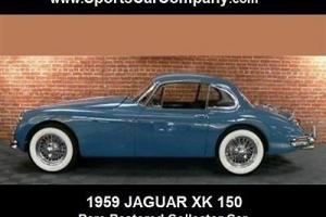 Jaguar : XK XK 150 COUPE Photo