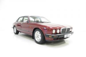 A Magnificent Jaguar XJ6 Gold Edition with Just 30,986 Miles and Full History.