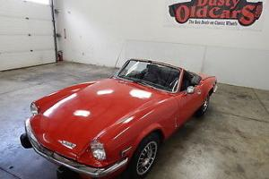 Triumph : Spitfire Runs Drives 4 Speed Interior and Body Good Photo