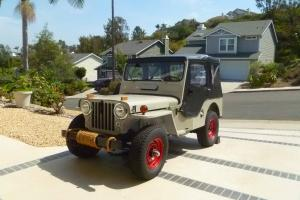 Willys : cj3a cj3a