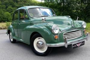 1971 Morris Minor Saloon, Good inside and out reconditioned unleaded engine