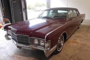 Lincoln : Continental Runs Drives Nice Body Interior VGood Suicide Doors