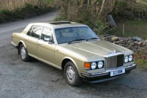 1987 Bentley Mulsanne S Four Door Saloon