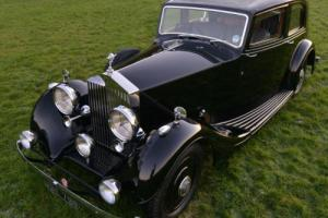 1938 Rolls Royce 25/30 Thrupp & Maberly Sports Saloon.