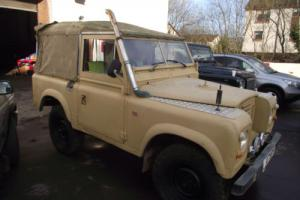 """1983 SERIES 3 Land Rover 88"""" - 4 CYL 200TDI VERY COOL LOOKING LAND ROVER"""