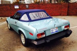 Other Makes : Triumph TR8 Blue plaid cloth Photo