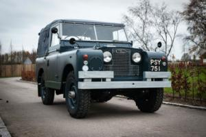 1961 Land Rover Series II - Ex RAF - Full Nut & Bolt Restoration