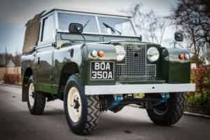 1962 Land Rover Series IIA - Total Nut & Bolt Restoration - Superb Throughout