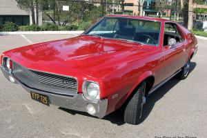 AMC : AMX Two-seater coupe