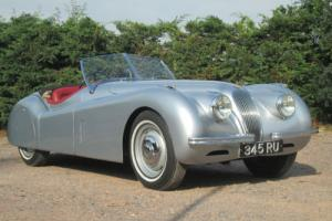 Jaguar XK120 (3442cc) 1951, Silver, First Registered in 1958